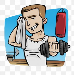 Love Fitness Boy - Physical Fitness Physical Exercise Fitness Centre Clip Art PNG