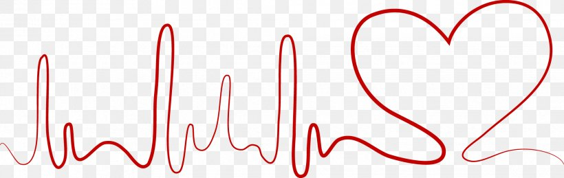 Heart Rate Decorative Lines, PNG, 1955x619px, Watercolor, Cartoon, Flower, Frame, Heart Download Free