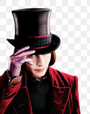 Johnny Depp - Willy Wonka Charlie And The Chocolate Factory Charlie And The Great Glass Elevator Charlie Bucket PNG