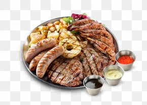 Barbecue - Barbecue Chicken Mixed Grill Seafood Pulled Pork PNG