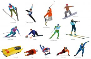 Olympics Cliparts - Winter Olympic Games Winter Sport Snowboarding Skiing Clip Art PNG