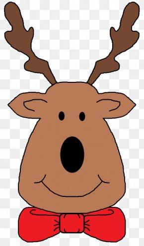 Reindeer - Reindeer Rudolph Christmas Clip Art PNG