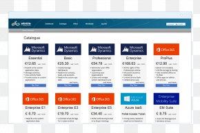 Catalog - Service Microsoft Azure Microsoft Office 365 Computer Software PNG