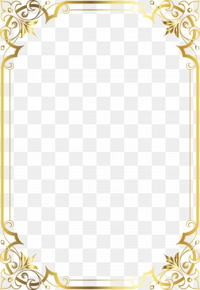 French Gorgeous Border High-definition Map - Borders And Frames Picture Frame Decorative Arts Clip Art PNG