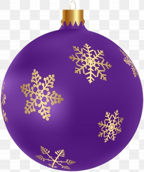 Purple Ornament - Christmas Ornament Clip Art Christmas Day Image PNG