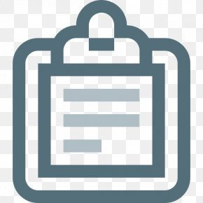 Checklist - Clipboard Chart Computer Software PNG
