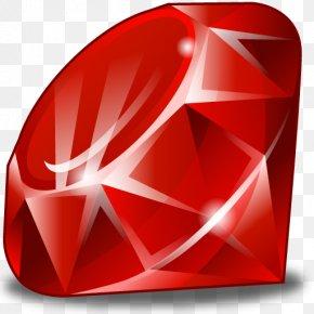 Ruby - RubyGems Gemstone Ruby Version Manager Pry PNG