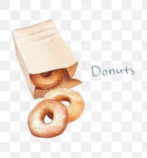 Cartoon Donut - Doughnut Drawing Cartoon PNG