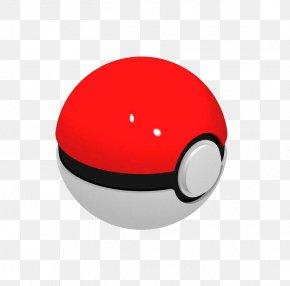 Pokeball - Red Circle Smile Design PNG