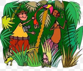 Happy Jungle - Africa Illustration PNG
