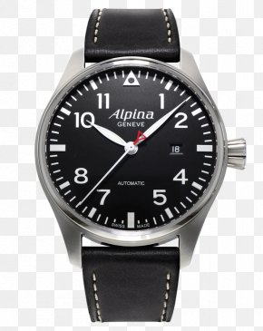 Watch - Alpina Watches Chronograph Automatic Watch Swiss Made PNG