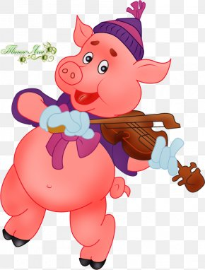 2019 - The Three Little Pigs Clip Art PNG