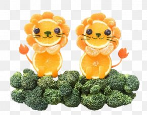 Oranges And Broccoli - Chicken Nugget Fruit Food Broccoli Vegetable PNG