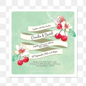 Summer Invitation - Marriage In Memoriam Card Convite Save The Date RSVP PNG