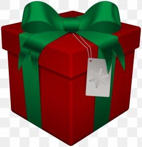 Box - Santa Claus Christmas Gift Box Clip Art PNG