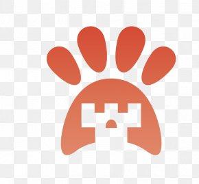 Vector Cat Footprints - Logo Clip Art PNG