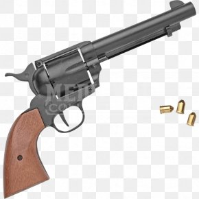 Western Pistol - Revolver Trigger Firearm Blank Colt Single Action Army PNG