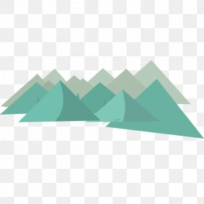 Flat Mountains Vector Material - Flat Design Euclidean Vector PNG