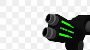 Monocular Optical Instrument - Binoculars Design Font PNG