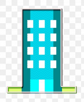 Rectangle Building Icon - Office Icon Business And Office Icon Building Icon PNG