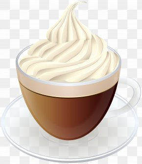 Coffee With Cream Transparent Clip Art Image - Image File Formats Lossless Compression PNG