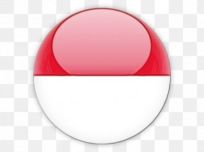 Oval Material Property - Singapore Flag Background PNG