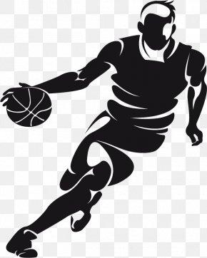 Basketball Players Creative People - Basketball Dribbling Clip Art PNG