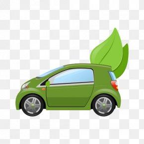 Car - Car Door Green Vehicle Electric Vehicle Environmentally Friendly PNG