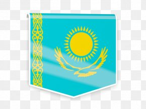 Flag Of Kazakhstan - Flag Of Kazakhstan Royalty-free PNG