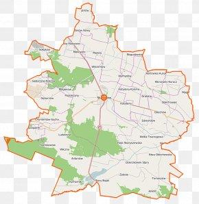 Map - Skaryszew Odechów, Masovian Voivodeship Kobylany, Radom County Wilczna, Masovian Voivodeship Bogusławice, Radom County PNG