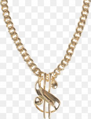 Necklace - Earring Necklace Chain Jewellery Gold PNG