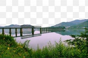 Yalu River Bridge Photograph - Sino-Korean Friendship Bridge Yalu River Broken Bridge Battle Of The Yalu River Bridgeu2013tunnel PNG