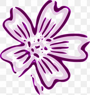 Purple Lilac - Flower Purple Violet Orchid Clip Art PNG
