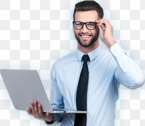Delivery Man - Laptop Stock Photography Technical Support PNG