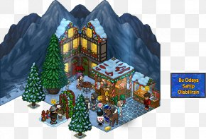 Christmas - Habbo Christmas Village Game Snow Patch PNG