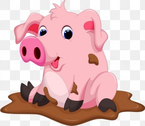 Pig - Domestic Pig Drawing Chocolate Clip Art PNG