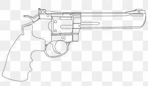 Hand Gun - Firearm Weapon Trigger Revolver Air Gun PNG