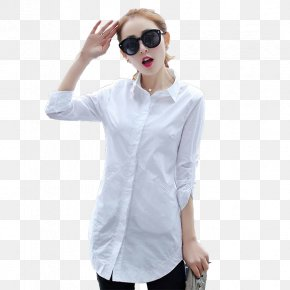 Fashion Minimalist White Shirt - Dress Shirt Fashion Designer PNG