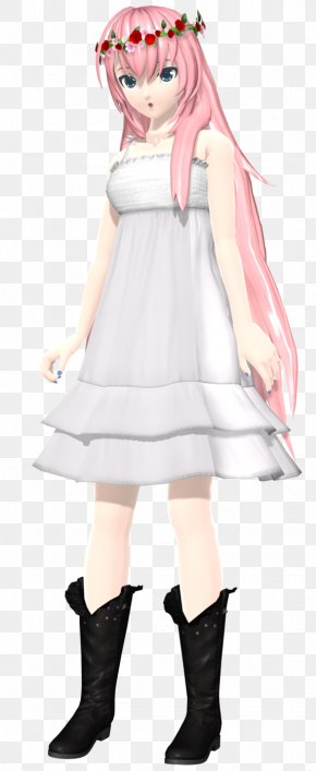 Hatsune Miku - Hatsune Miku: Project DIVA Arcade Hatsune Miku: Project DIVA 2nd Megurine Luka Chiffon PNG