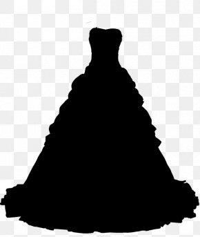 Blackandwhite Victorian Fashion - Wedding Silhouette PNG