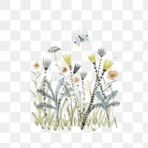 Creative Fantasy Flowers - Book Illustration Drawing Illustrator Art Illustration PNG