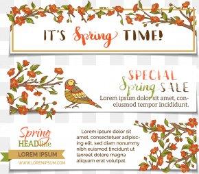 Vector Birds - Euclidean Vector Floral Design Illustration PNG