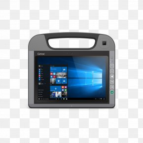 Tablet Pc - Microsoft Tablet PC Rugged Computer Getac Touchscreen PNG