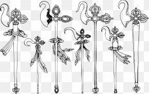 Tibet Spear - Tibet Symbol Drawing Buddhism PNG