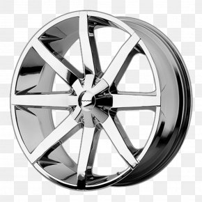 Wheel Rim - Car Wheel Google Chrome Chrome Plating Truck Outfitters PNG