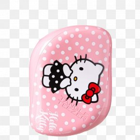 Pink Hello Kitty - Hello Kitty Comb Hairbrush Tangle Teezer PNG