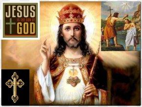 Jesus - Jesus Holy Card Prayer Catholicism Feast Of Christ The King PNG