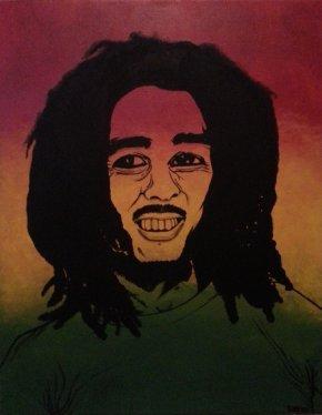 Bob Marley - Visual Arts Painting Portrait DeviantArt PNG