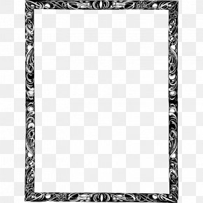 Border Swirls - Borders And Frames Book Clip Art PNG