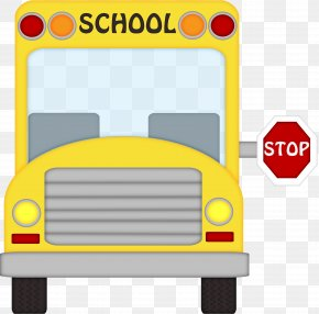 Bus Cliparts Transparent - School Bus Student Clip Art PNG